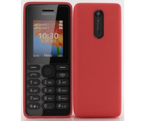 Nokia 108 Dual red