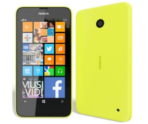 Nokia 630 Lumia Yellow Windows Phone