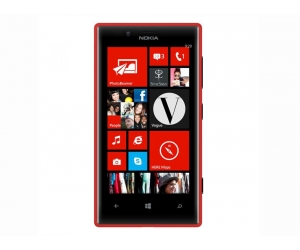 Nokia 720 Lumia red Windows Phone