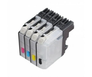 Ink Cartridge XL 10ml Brohter LC121/LC123 MFC-4310/4710/4510/650/470/475/4410 Cyan