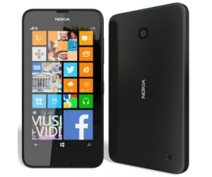 Nokia 635 Lumia Black Windows Phone