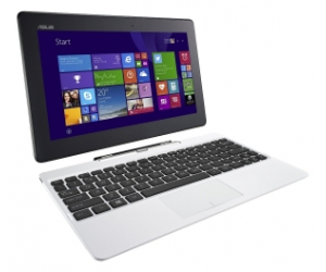 Asus T100TA Transformer Book 10.1/Z3735/32GB/1GB/WIN8.1+ OFFICE H&S2013/WHITE (T100TAF-BING-DK005B)